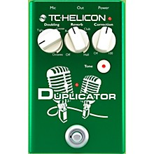 Open Box TC Helicon Duplicator Vocal Doubling Effects Pedal