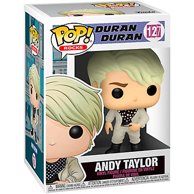 Funko Duran Duran POP! Rocks Andy Taylor Vinyl Figure #127