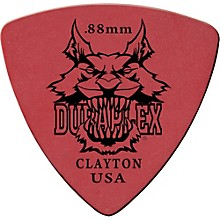 Clayton Duraplex Delrin Rounded Triangle Picks 1 Dozen