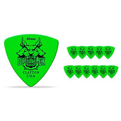 Clayton Duraplex Delrin Rounded Triangle Picks 1 Dozen
