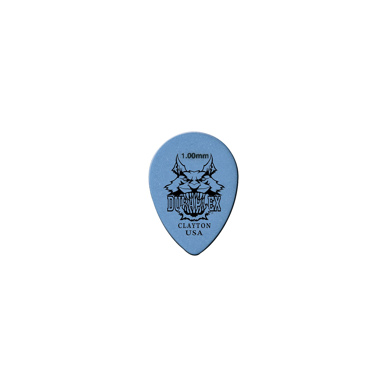 Clayton Duraplex Delrin Small Teardrop Picks 1 Dozen