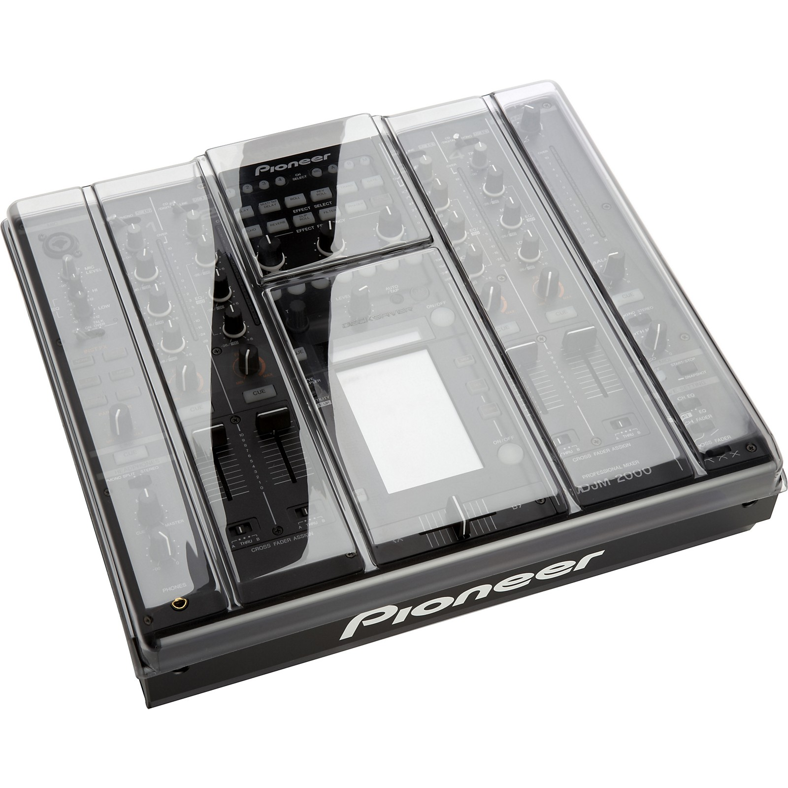 Decksaver Dust Cover and Faceplate for Pioneer DJM-2000