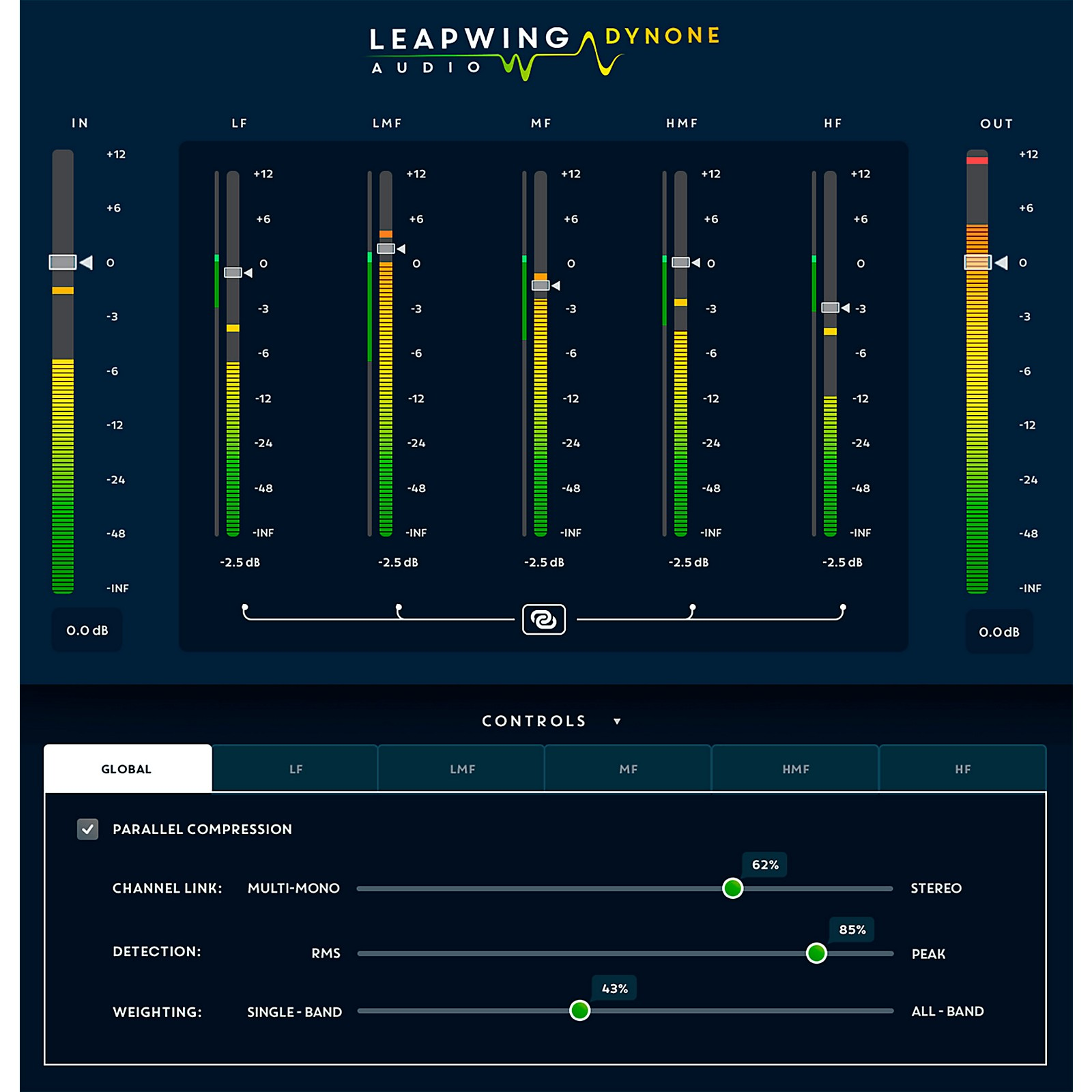 Leapwing Audio DynOne Dynamics Plug-in Software Download