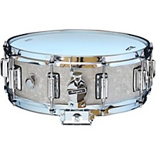 Dyna-Sonic Snare Drum with Beavertail Lugs 14 x 5 in. White Marine Pearl