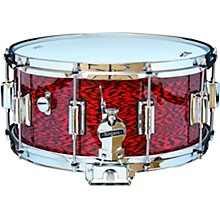 Dyna-Sonic Snare Drum with Beavertail Lugs 14 x 6.5 in. Red Onyx