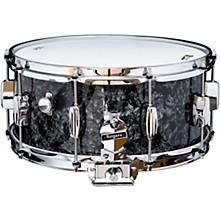Dyna-Sonic Snare Drum with Bread & Butter Lugs 14 x 6.5 in. Black Diamond Pearl