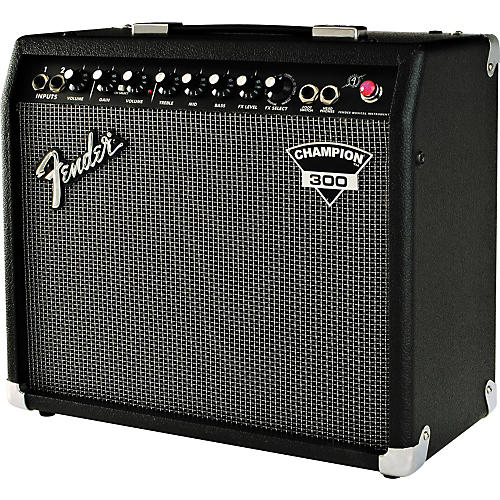 fender dyna touch iii champion 300 guitar combo amp musician 39 s friend. Black Bedroom Furniture Sets. Home Design Ideas