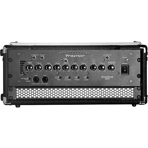 traynor dynabass 800h bass amp head musician 39 s friend. Black Bedroom Furniture Sets. Home Design Ideas