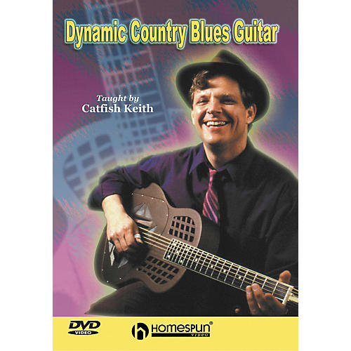 Homespun Dynamic Country Blues Guitar (DVD)