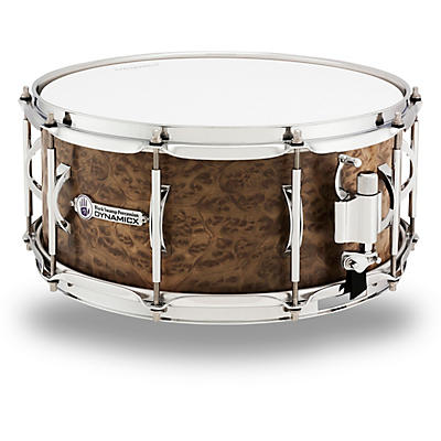 Black Swamp Percussion Dynamicx BackBeat Series Marblewood Veneer Snare Drum