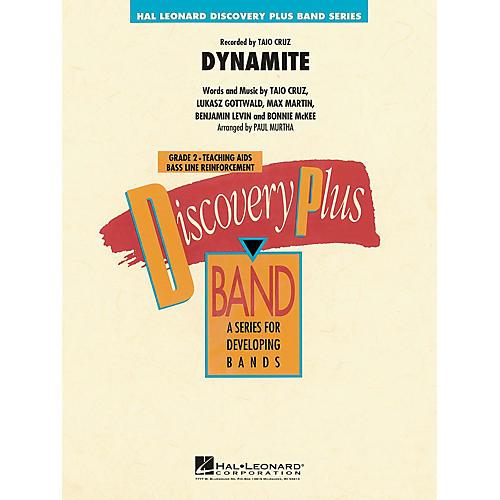 Hal Leonard Dynamite - Discovery Plus Band Level 2 arranged by Paul Murtha