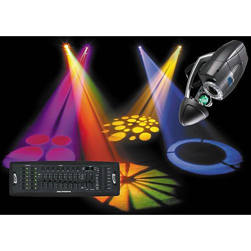 American DJ Dynasty Scan/DMX Operator Lighting Package