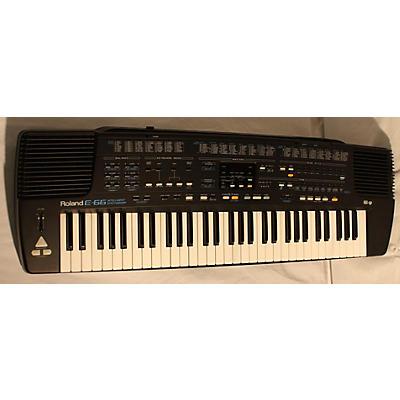 Roland E-66 Intelligent Synthesizer Arranger Keyboard