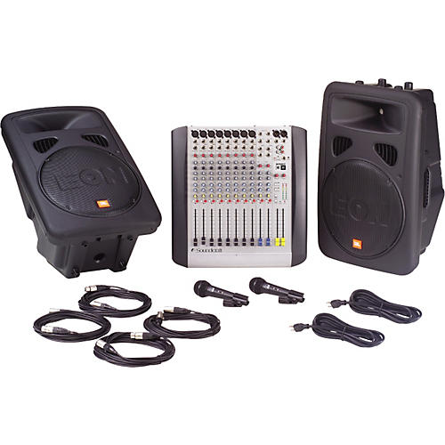 JBL E-System 15 PA Package
