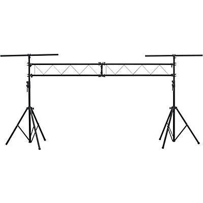 Eliminator Lighting E116 Dual Tripod Stand and 2x5 ft I Beam Truss System For Mobile Entertainers