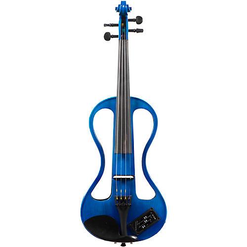 EB Electric Violins E4 Series Electric Violin 4/4 Blue