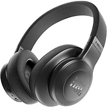 E55BT Over-Ear Wireless Headphones Black