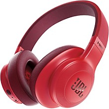 E55BT Over-Ear Wireless Headphones Red