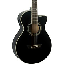Washburn EA10B Festival Jumbo Acoustic-Electric Guitar