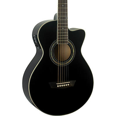 Washburn EA12B-A Festival Acoustic-Electric Guitar