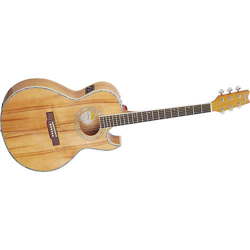 washburn ea19k koa acoustic electric guitar musician 39 s friend. Black Bedroom Furniture Sets. Home Design Ideas