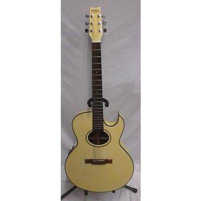 Washburn EA20WH-B Acoustic Electric Guitar