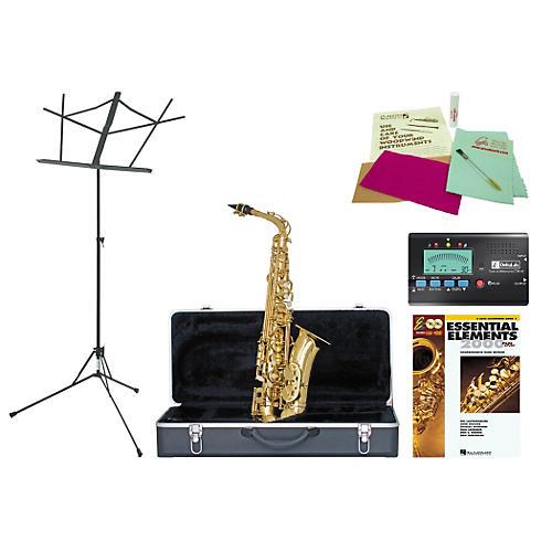 Etude EAS-100 Beginner Student Alto Saxophone Bundle