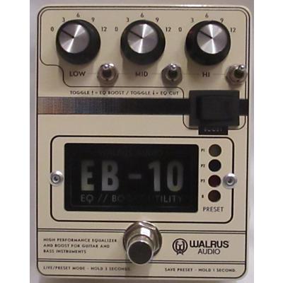 Walrus Audio EB-10 EQ BOOST UTILITY Effect Pedal