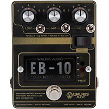 Walrus Audio EB-10 Preamp/EQ/Boost Effects Pedal