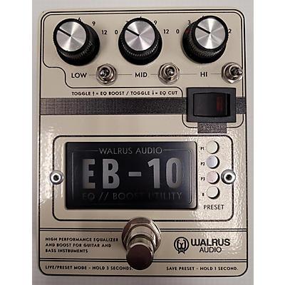 Walrus Audio EB-10 Preamp Guitar Preamp