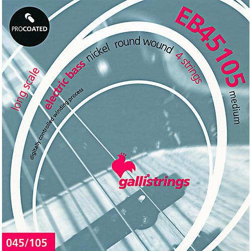 Galli Strings EB45105 PROCOATED Medium Bass Strings 45-105