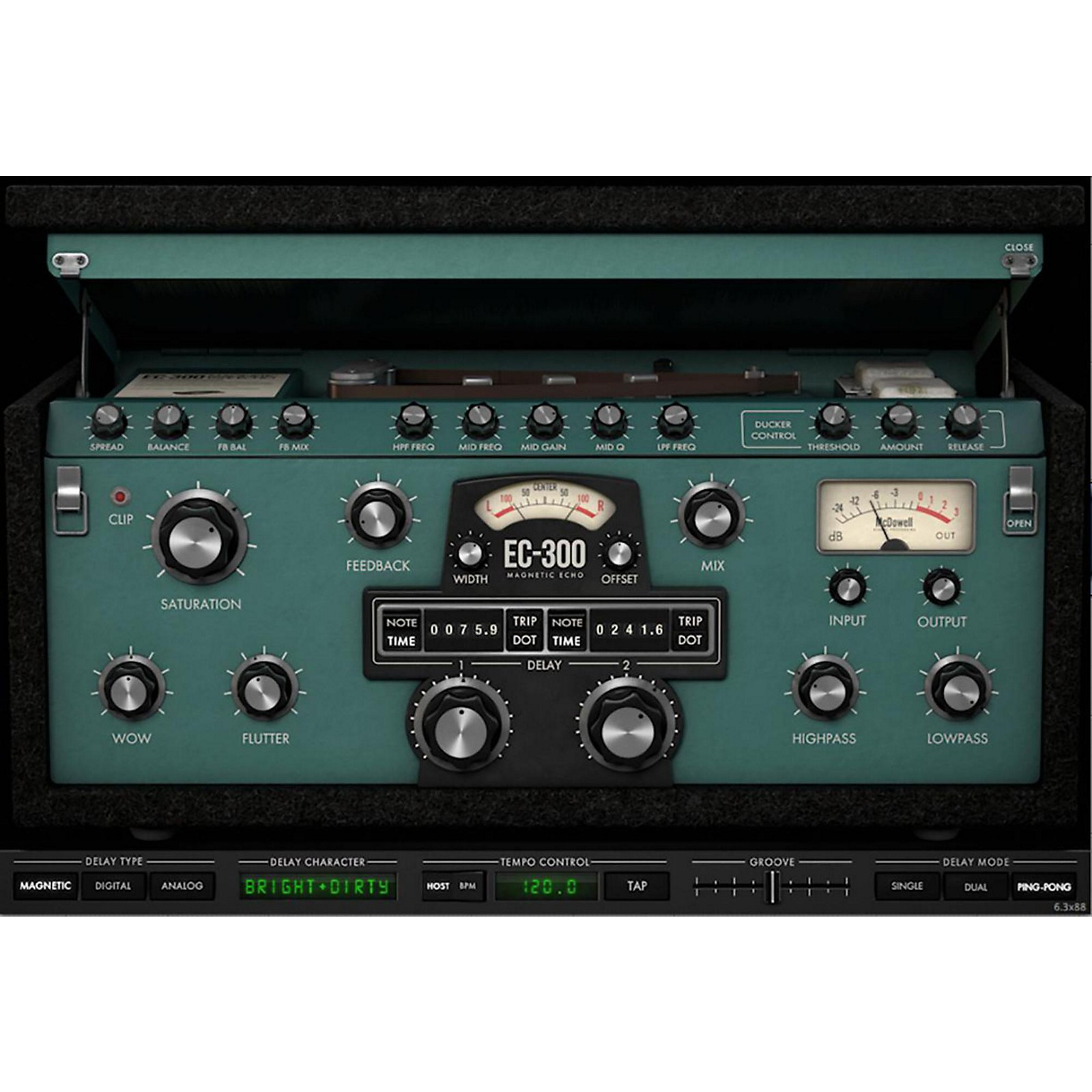 McDSP EC-300 Echo Collection HD v6