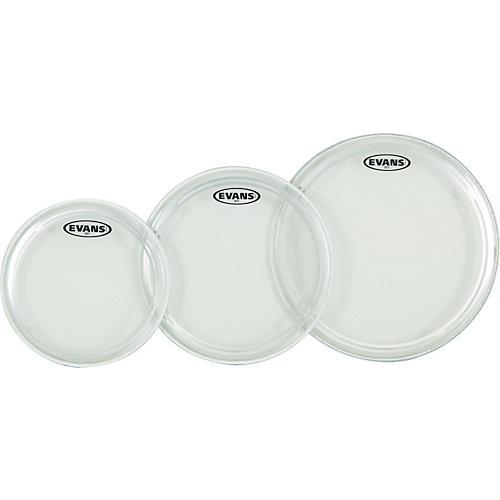 Evans EC1 Clear Standard Drumhead Pack