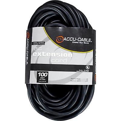 American DJ EC123 12 Gauge IEC Power Extension Cord
