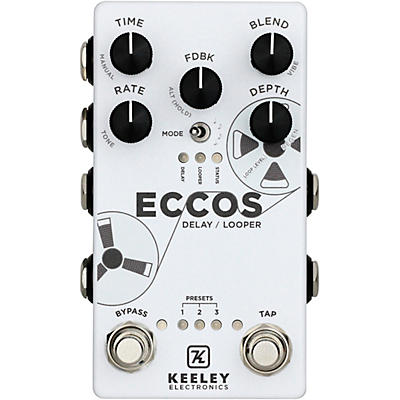 Keeley ECCOS Delay and Looper Effects Pedal