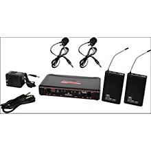 Open BoxGalaxy Audio EDXR/38VV Dual-Channel Wireless Lavalier System