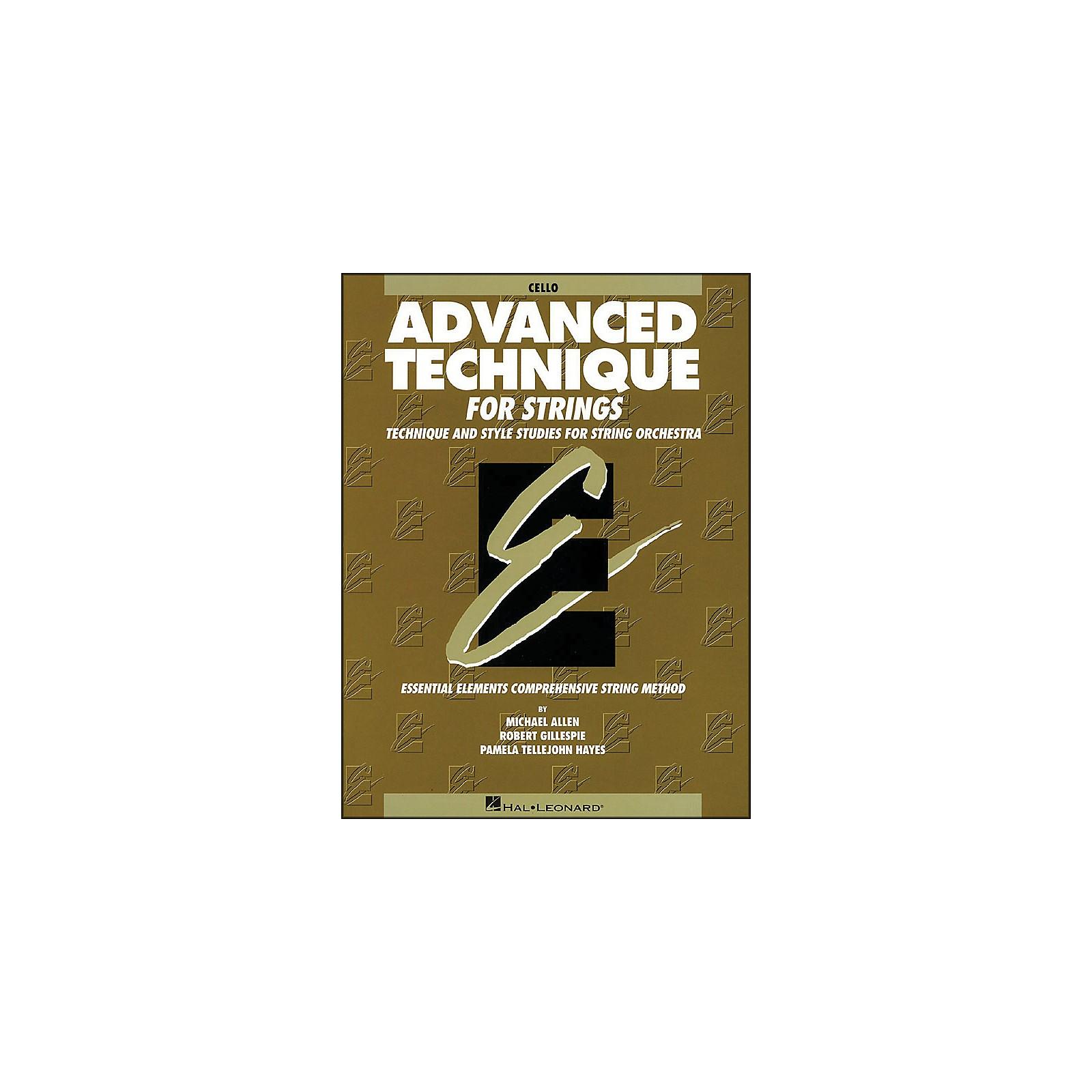 Hal Leonard EE Advanced Technique for Strings Cello