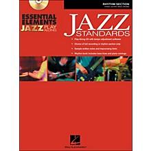 Hal Leonard EE Jazz Play Along: Jazz Standards Rhythm Section Book/CD-Rom
