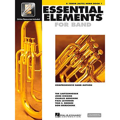 Hal Leonard EE2000 E-Flat Tenor (Alto) Horn Book 1 Book/CD