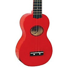 EF-MN Minnow Ukulele Red