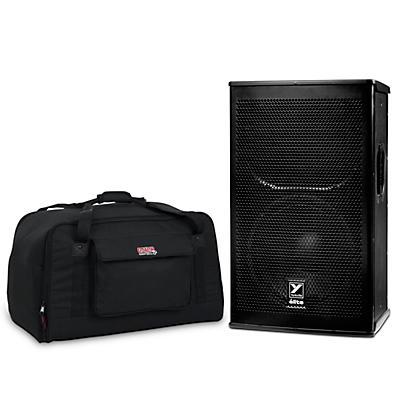 "Yorkville EF12P 1,200W 12"" Elite Powered Speaker with Tote"