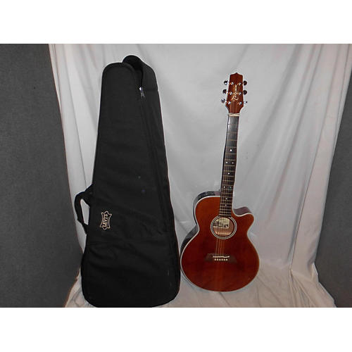 Takamine EF261S AN Acoustic Electric Guitar nerutal