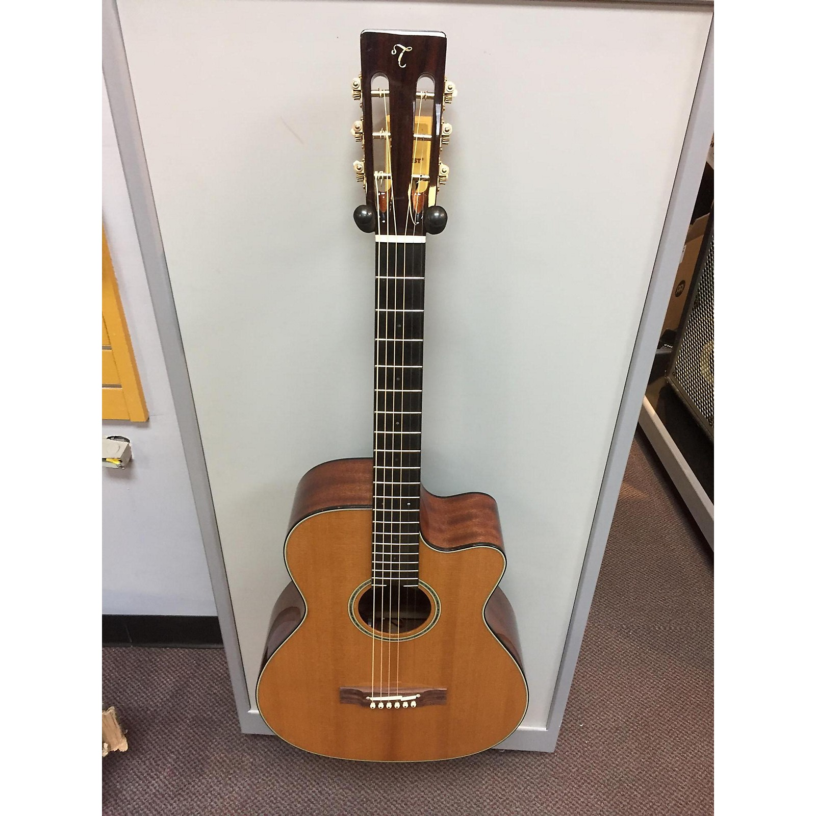 Takamine EF740FS Thermal Top Classical Acoustic Guitar