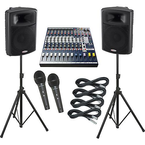 Soundcraft EFX8 / Harbinger APS15 PA Package