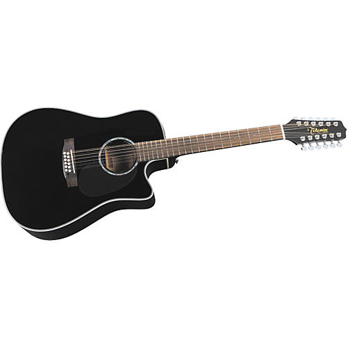 Takamine EGC531SSC12 12-String Acoustic-Electric Dreadnought Guitar