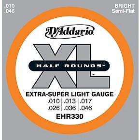 d 39 addario ehr330 half round extra super light electric guitar strings musician 39 s friend. Black Bedroom Furniture Sets. Home Design Ideas