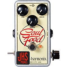 "Open Box JHS Pedals EHX Soul Food ""Meat & 3"" Mod Guitar Effects Pedal"