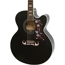 EJ-200SCE Acoustic-Electric Guitar Black