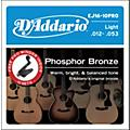 D'Addario EJ16 Acoustic Guitar Strings 10-Pack with Free Prowinder thumbnail