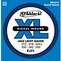 D'Addario EJ21 XL Nickel Jazz Light Electric Guitar Strings thumbnail